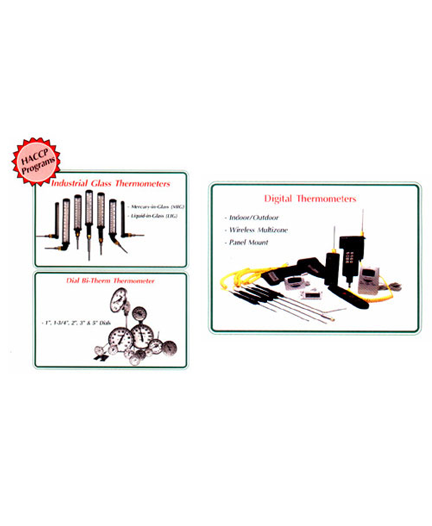 Thermometers & Scales for Industrial